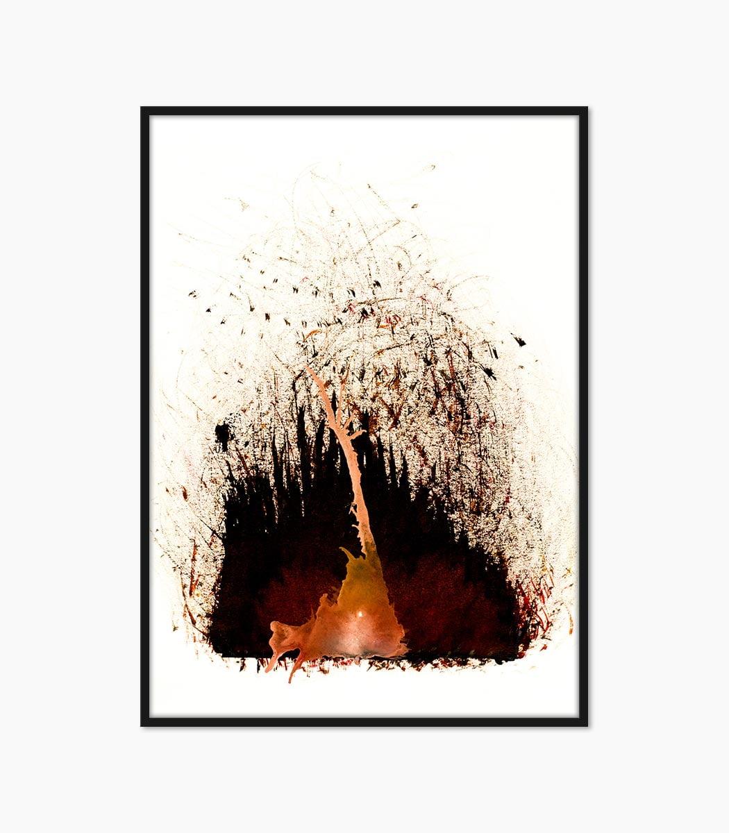 print abstract compozitie creat manual si printat la calitate superioara numai pe www.artwall.ro