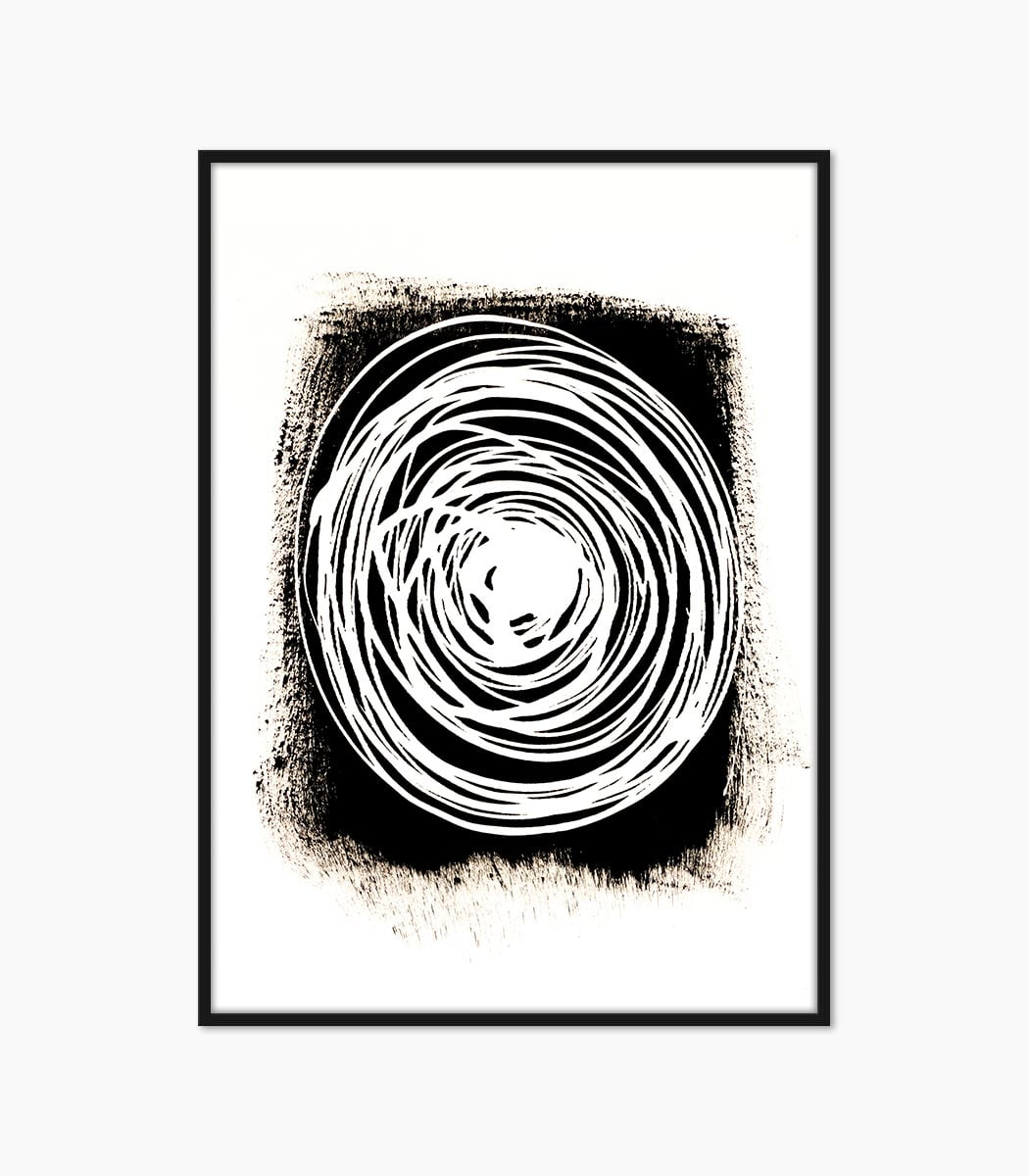 print abstract spirala creat manual si printat la calitate superioara numai pe www.artwall.ro