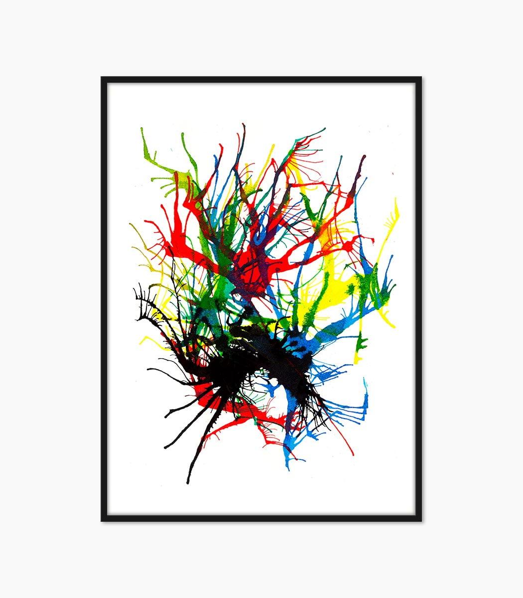 culoare cerneala creat manual si printat la calitate superioara numai pe www.artwall.ro