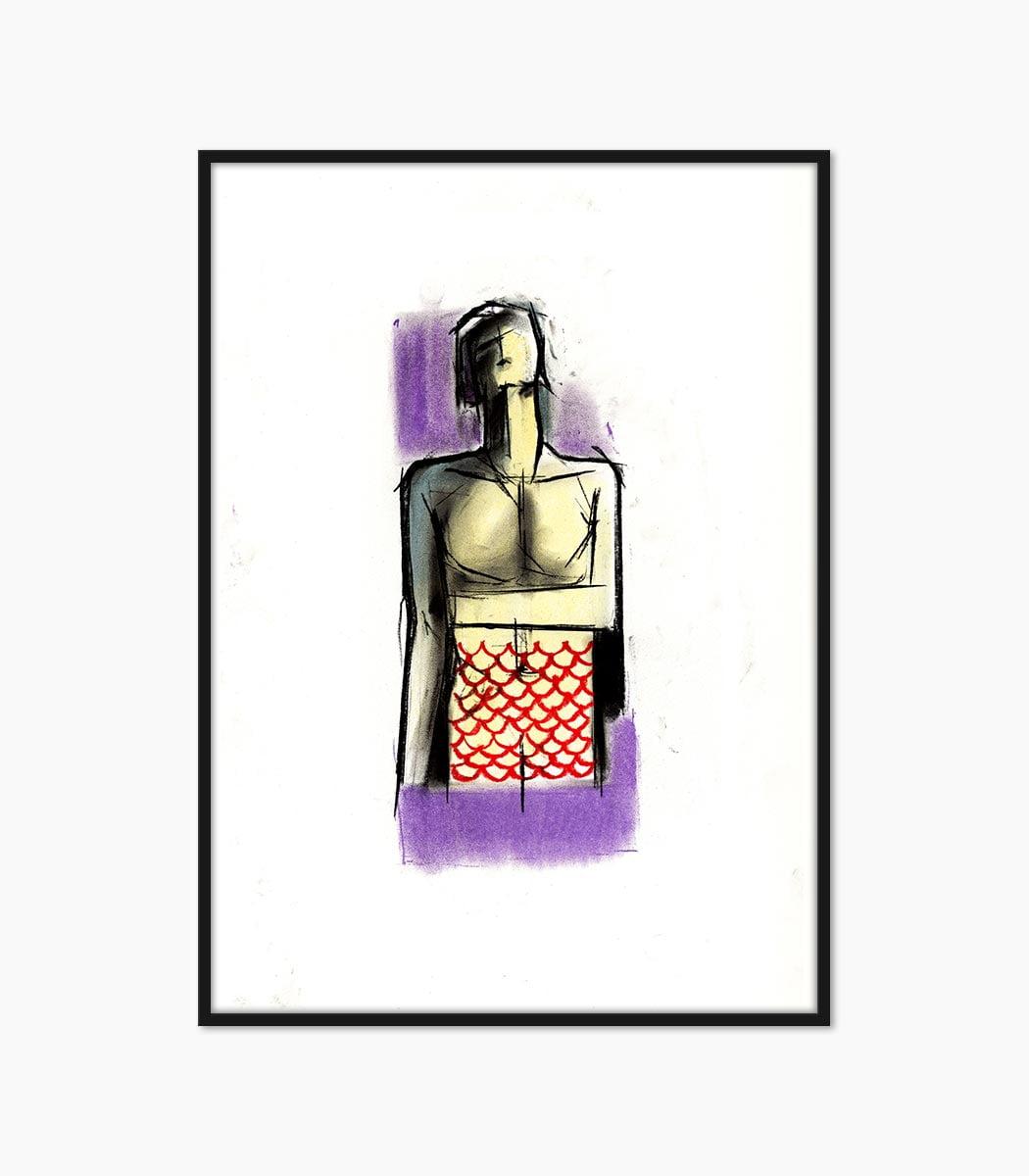 print culoare creta creat manual si printat la calitate superioara numai pe www.artwall.ro