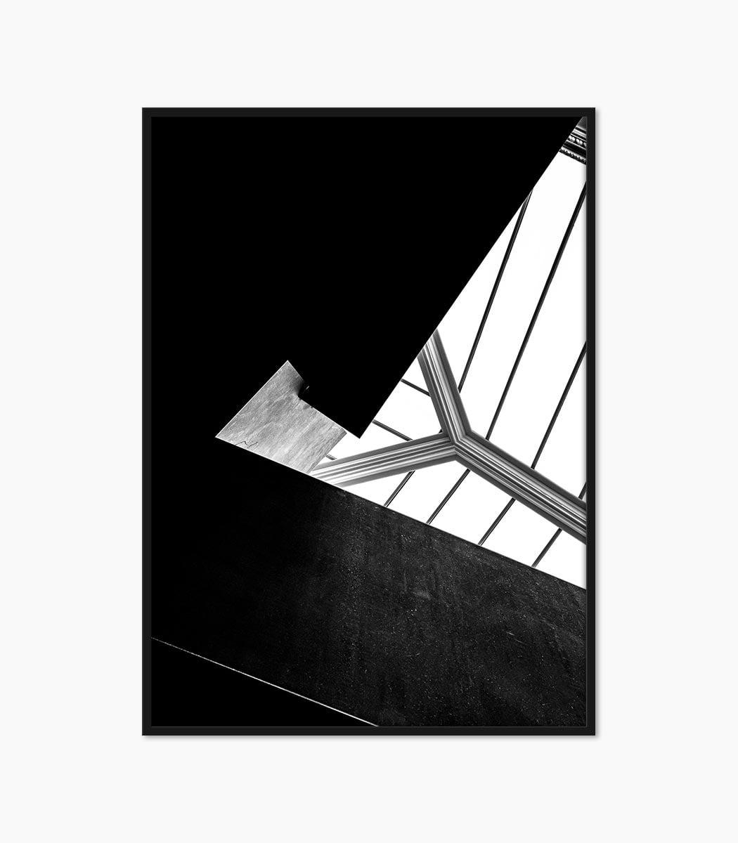 print arhitectura monocrom creat si printat la calitate superioara numai pe www.artwall.ro